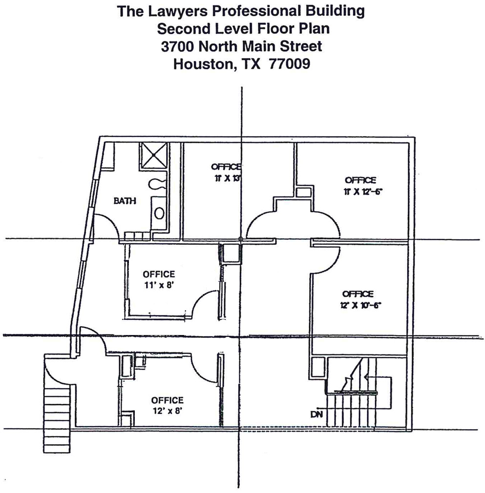 Floor plans lawyers professional building for Professional house plans